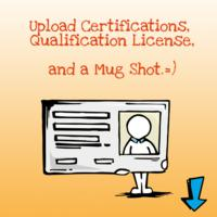 Upload Certifications