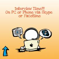 Interview Time on PC or Phone