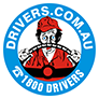 header logo of 1800 drivers